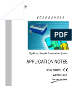 Digiblock sample application notes