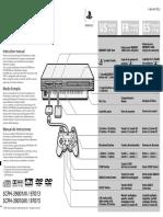 Manual Scph 39001n