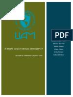 El desafío social en tiempos del COVID-19.pdf