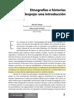 Etnografías e historias de despojo. Una introducción. Vanegas, J.