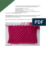 Un model de tricotat deosebit