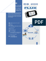 Equipamiento Normativa DGA-Data Logger Flux RB 200