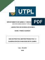 GUÍA ELABORACIÓN DE UN INDICADOR DE PH CASERO