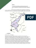 Características de terreno Chuquibamba