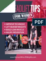 10DeadliftTipsForWomen