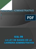 decreto ley 276 ley de base de carrera administrativa