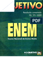 Enem2000 - Prova 01 - Amarela - Resoluções Objetivo