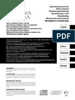 Bedienungsanleitung für Pioneer PD-M406A
