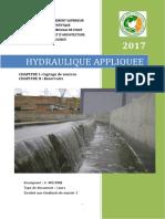 Hydraulique appliquée I et II