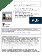 journal urban technologies