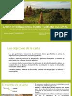 CARTA INTERNACIONAL SOBRE TURISMO CULTURAL.pptx