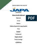 Tarea 1 Didactica Esp de la Lengua Esp Albania.docx