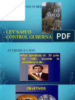 ley safco-control gubernamental
