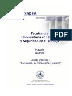 UD1-La Materia, Su Composición y Estado
