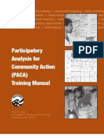 PACA Training manual