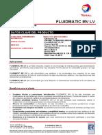 FICHA TECNICA FLUIDMATIC MVLV
