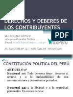 Deberes y Derechos de Los Contribuyentes