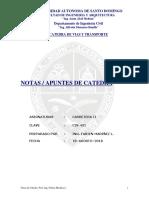 NOTAS DE CATEDRAS TEMA 2 PERALTE