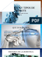 ROBOTICA Y TIPOS DE ROBOTS
