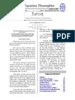 Aquarian Theospophist vol-3-3