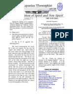 Aquarian Theospophist vol-3-6-supplement