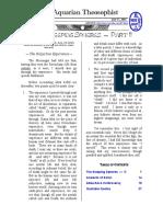 Aquarian Theospophist vol-3-9-supplement