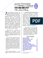 Aquarian Theospophist vol-5-2-supplement