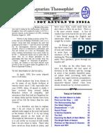 Aquarian Theospophist vol-5-6-supplement