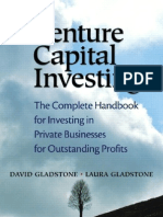 Venture Capital Investing - The Complete Handbook for Investing in Private Businesses for Outstanding Profits