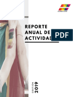 Informe Anual de Actividades Colombia Diversa Año 2019