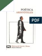 Aristote 2les -Poetica Ed. Alianza