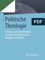 HIDALGO POLITISCHE THEOLOGIE Beitrage zum untrennbaren Zusammenhang zwischen Religion und Politik