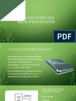 Organización del microprocesador ALU