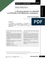 Prescripcion y caducidad - Enrique Varsi Rospigliosi