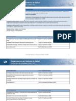 Cronograma de Actividades Organización del Sistema de Salud (2)