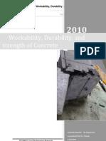 [2010 f]Final Concret Lab, Hw, 2nd Yr, 1st Term, 2010 ,Strength of Concret