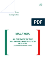 Overview of Malaysian Construction Industry 2009