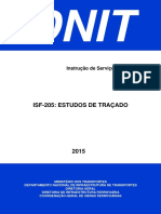 ISF-205 - Estudos de Traçado
