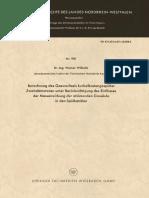 [Forschungsberichte des Landes Nordrhein-Westfalen 981] Dr.-Ing. Werner Wilhelm (auth.) - Berechnung des Gaswechsels kurbelkastengespülter Zweitaktmotoren unter Berücksichtigung des Einflusses der Massenwirkung der