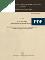 [Forschungsberichte des Landes Nordrhein-Westfalen 989] Dr.-Ing. Werner Wilhelm (auth.) - Einfluß der Spülkanalabmessungen auf den Ladungswechsel kurbelkastengespülter Zweitakt-Motoren (1961, VS Verlag für Sozialwi
