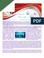 Message Du Nouvel an 2011 Internet