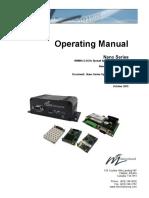 N920 Nano Series.Operating Manual.v3.01