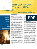 Metals Monitor October 2010