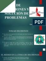 Capacitacion en Toma de Decisiones y solucion de Problemas