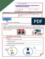 COMPRUEBO LO APRENDIDO DE PRODUCTO CARTESIANO Y RELACIONES BINARIAS.docx