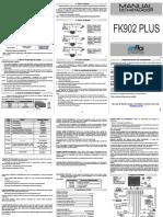 Manual FK902 Plus