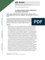 Heparán Sulfato Endotelial en la Nefropatía Diabética
