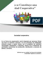 Como se Constituye una Sociedad Cooperativa