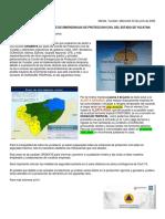 """""""Cristóbal"""" ocasionará lluvias torrenciales en las próximas horas"""