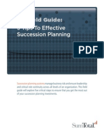 5 Tips To Effective Succession Planning